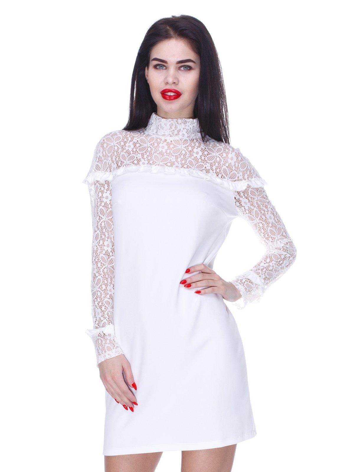Сукня кольору молоко | 3155117