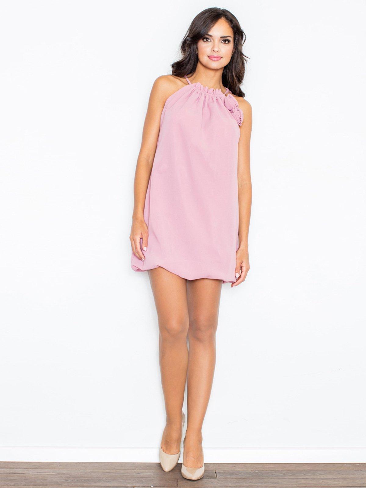Платье розовое | 3195707