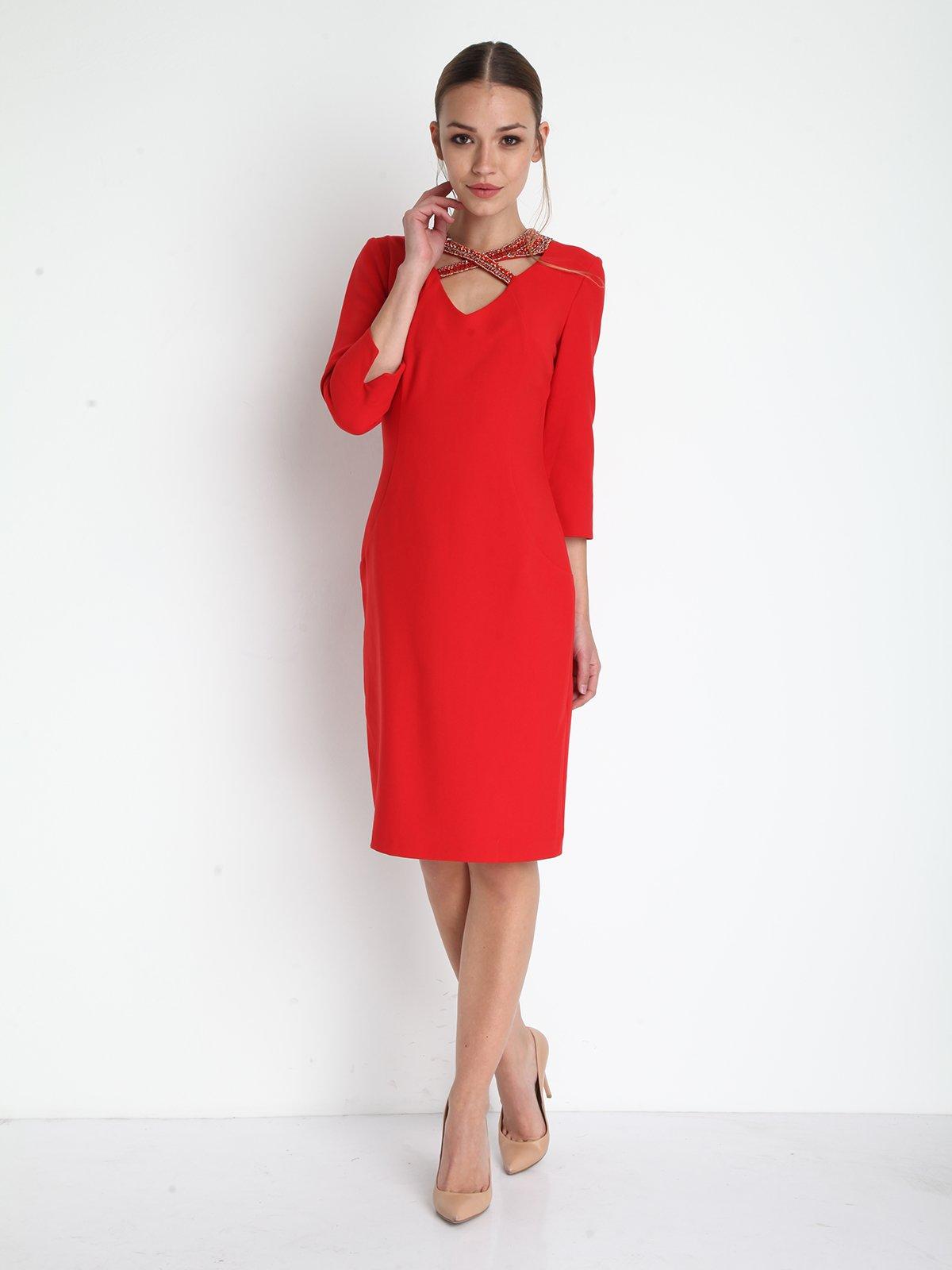 Сукня червона | 3191644