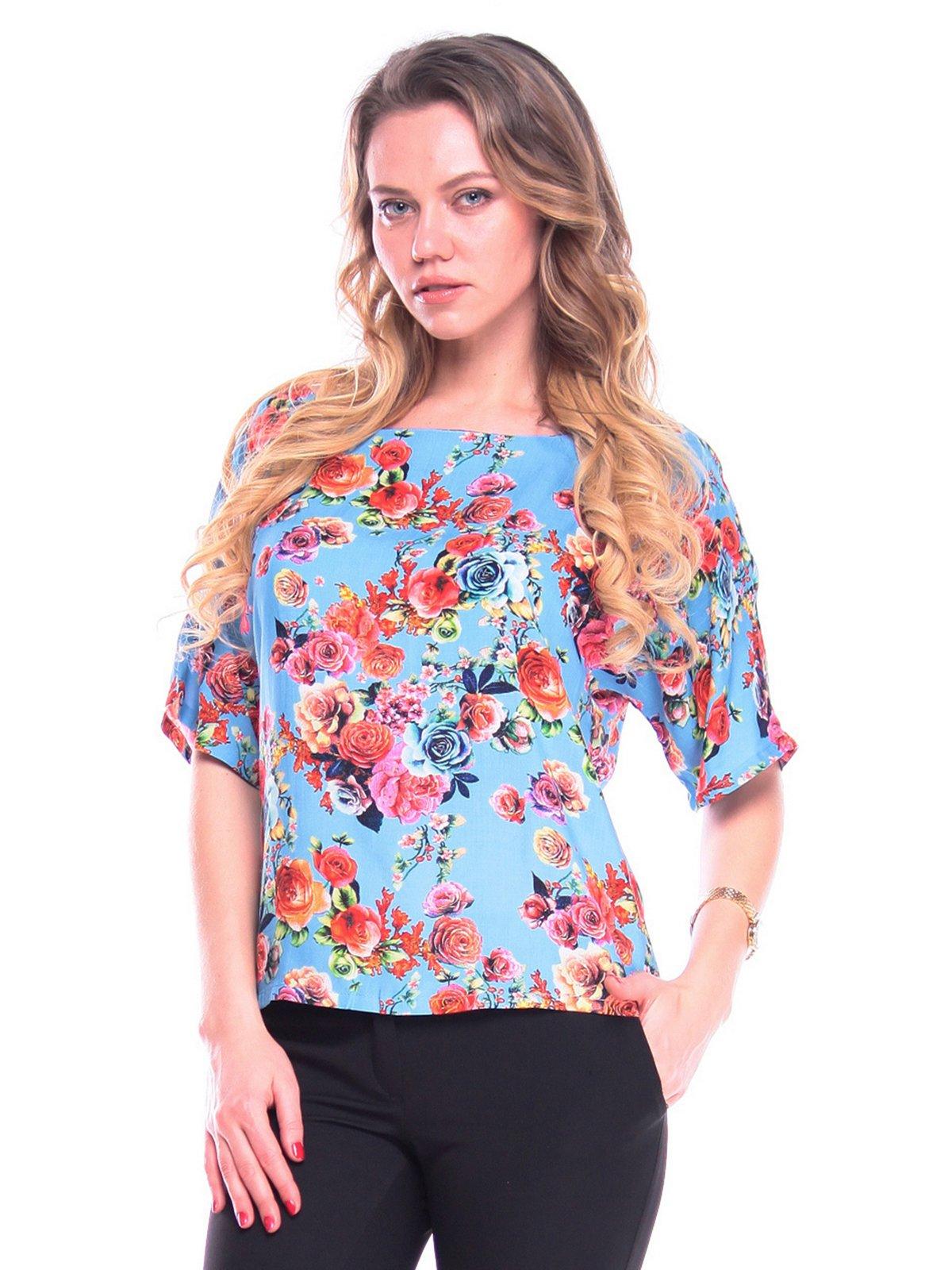 Блуза в квітковий принт   3203896