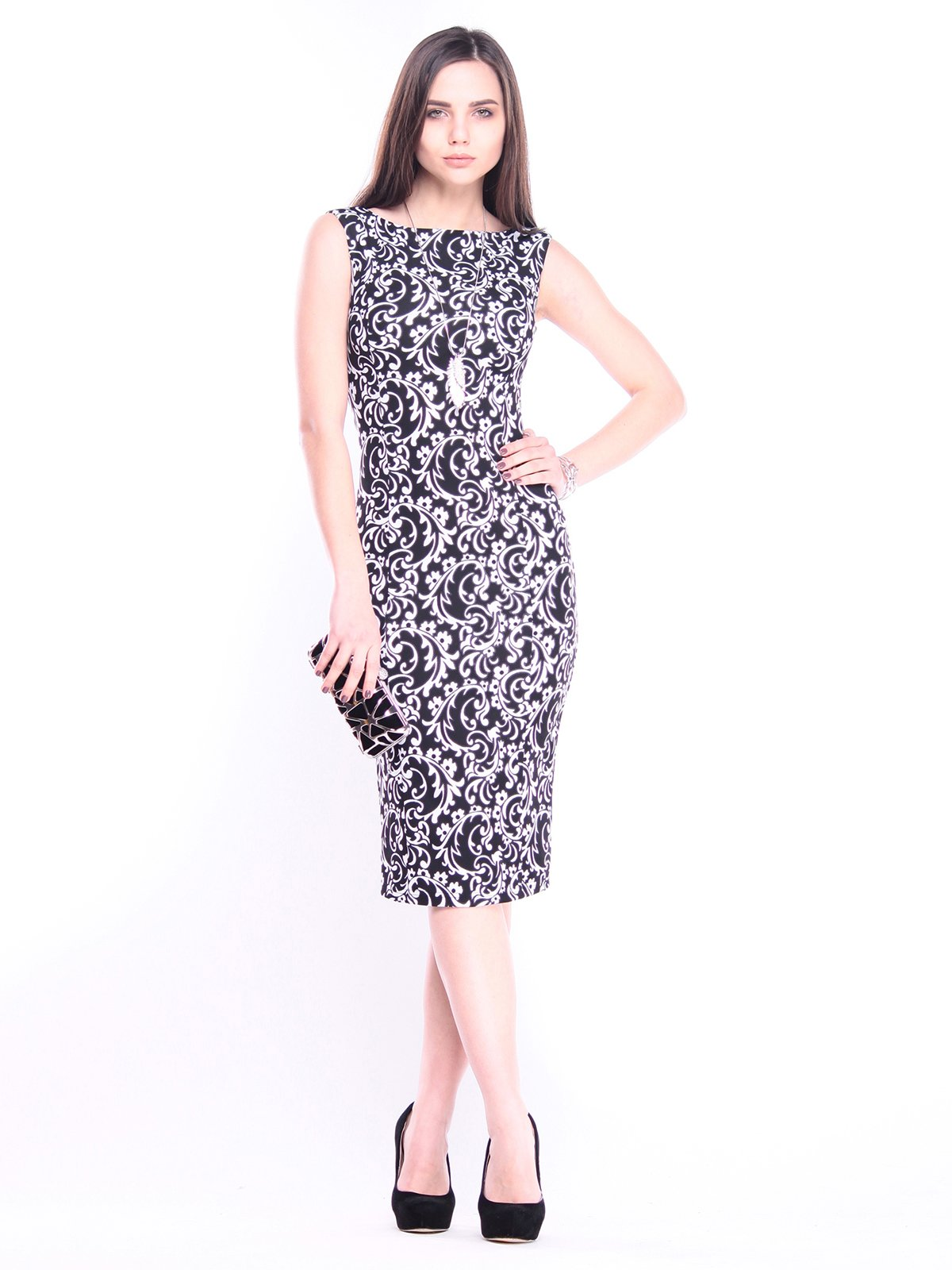 Платье в принт | 3008186