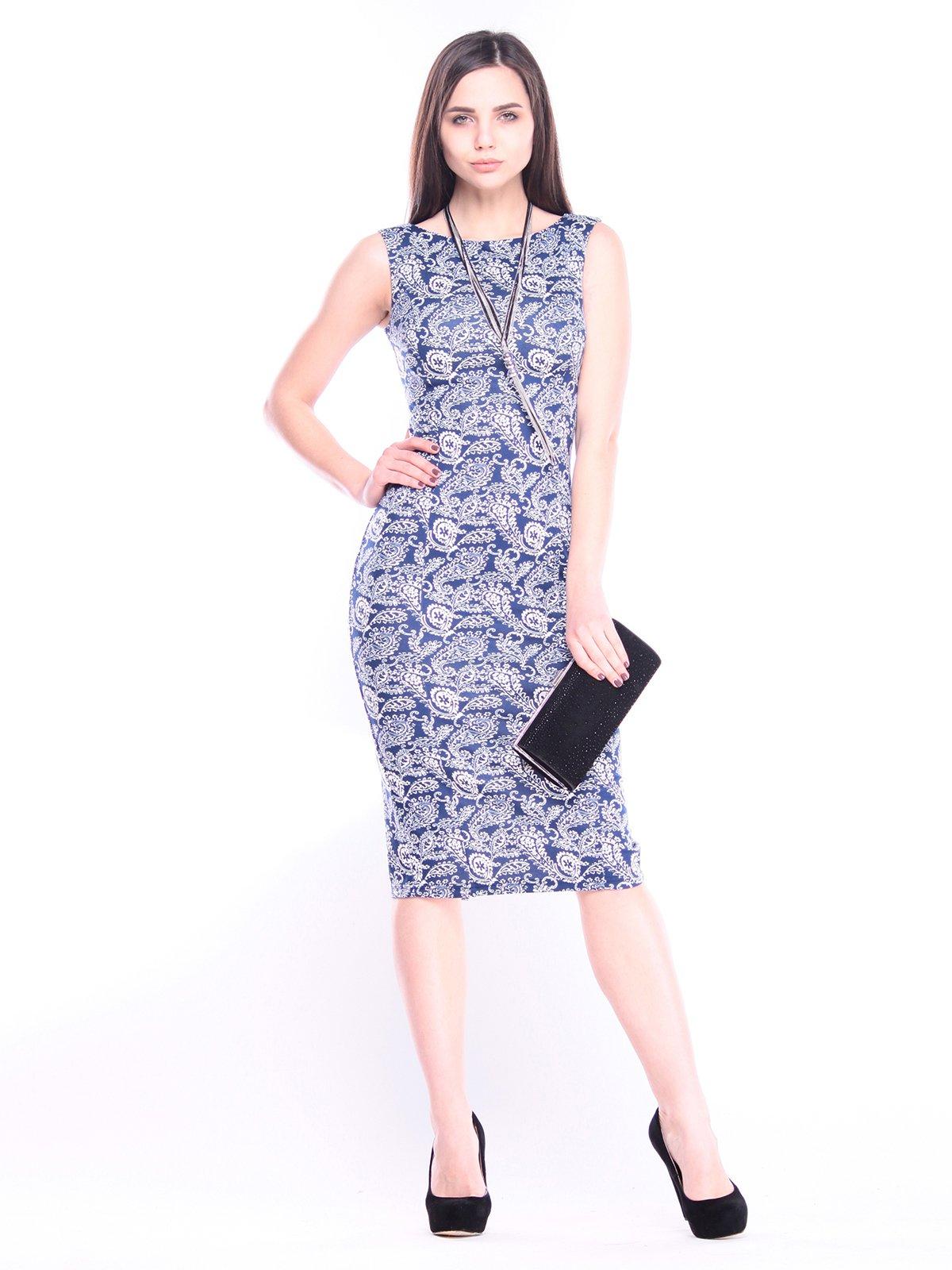Платье в принт   3008192