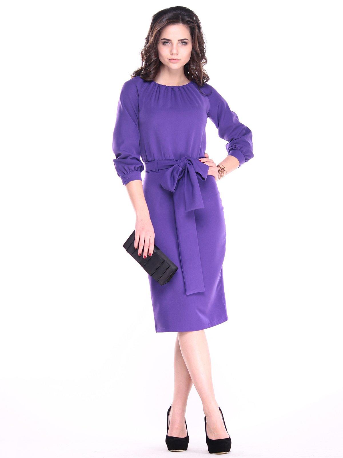 Платье фиолетовое   3041023