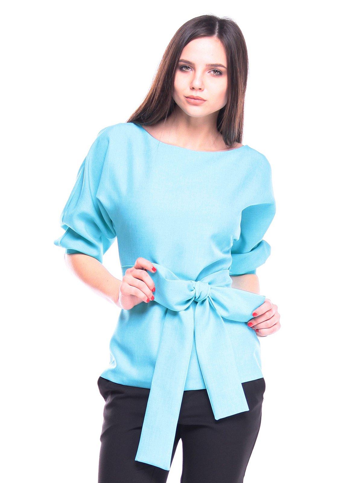 Блуза голубая | 3091009