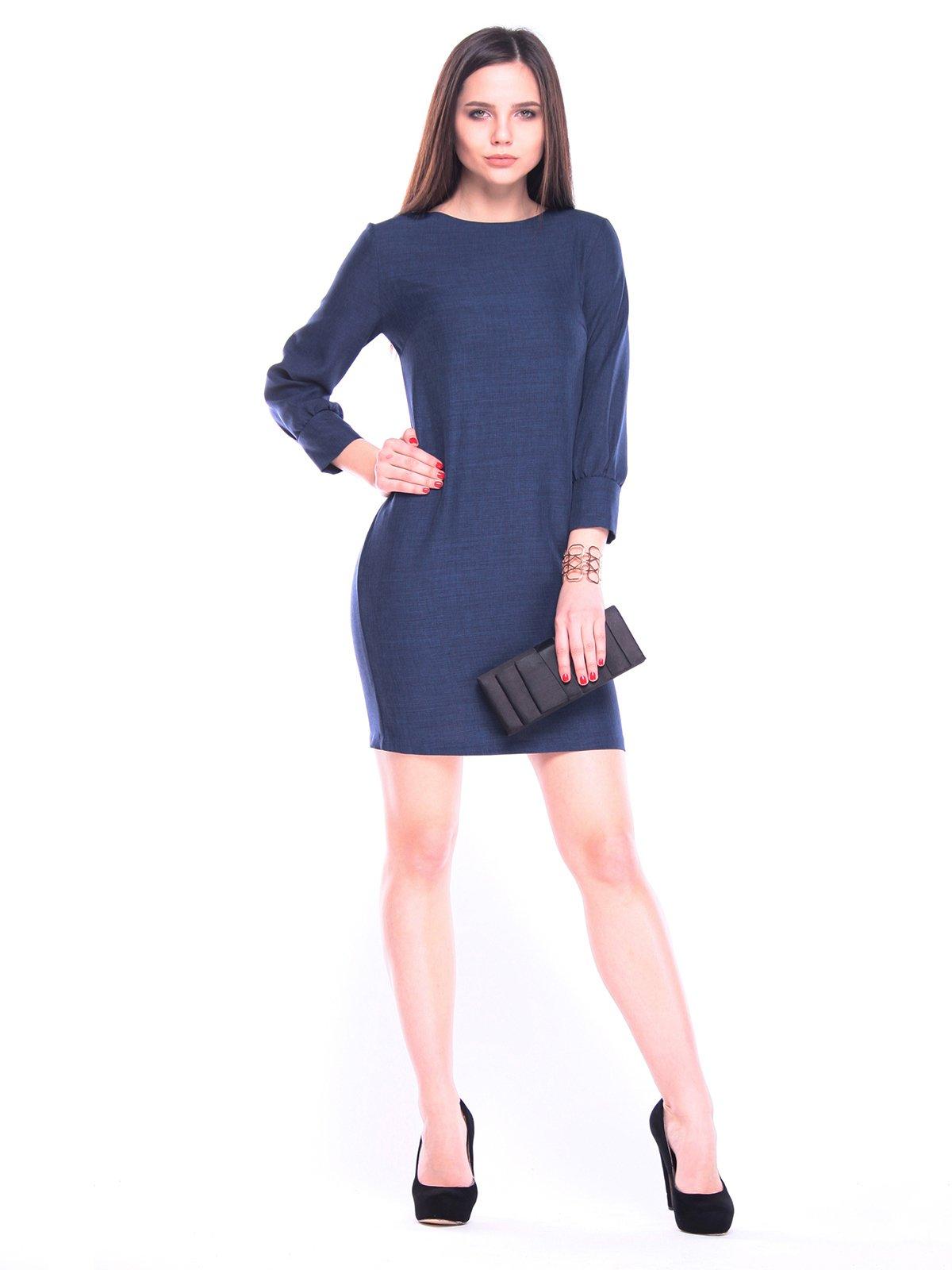 Сукня темно-синя | 3091010