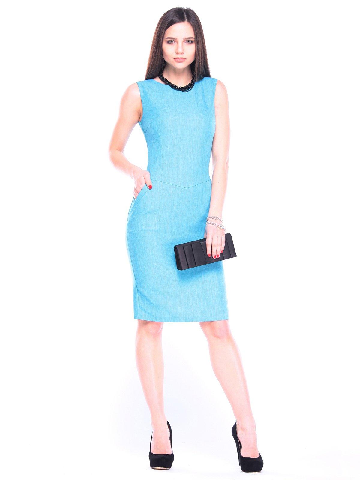 Платье ментолового цвета | 3091015