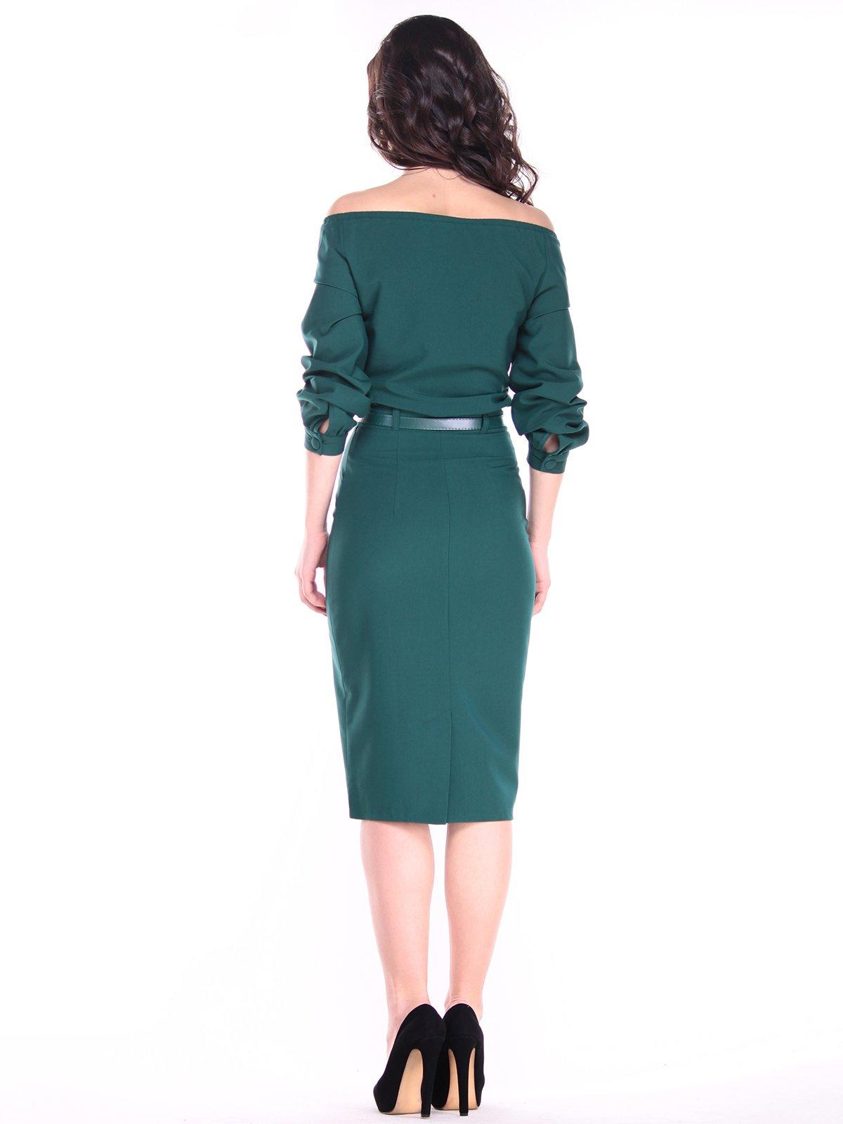 Платье изумрудное   3121312   фото 2
