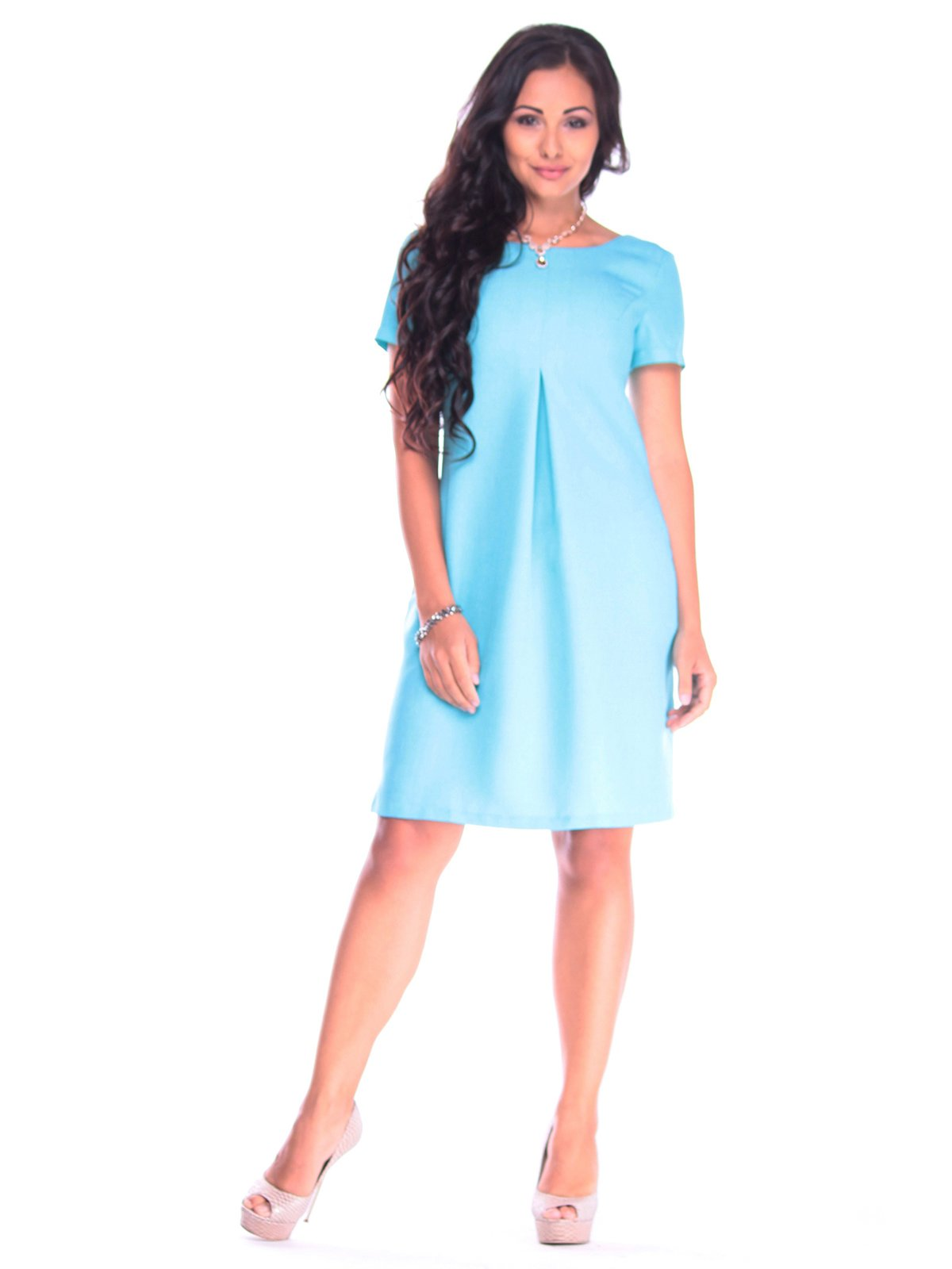 Платье голубое | 3184481