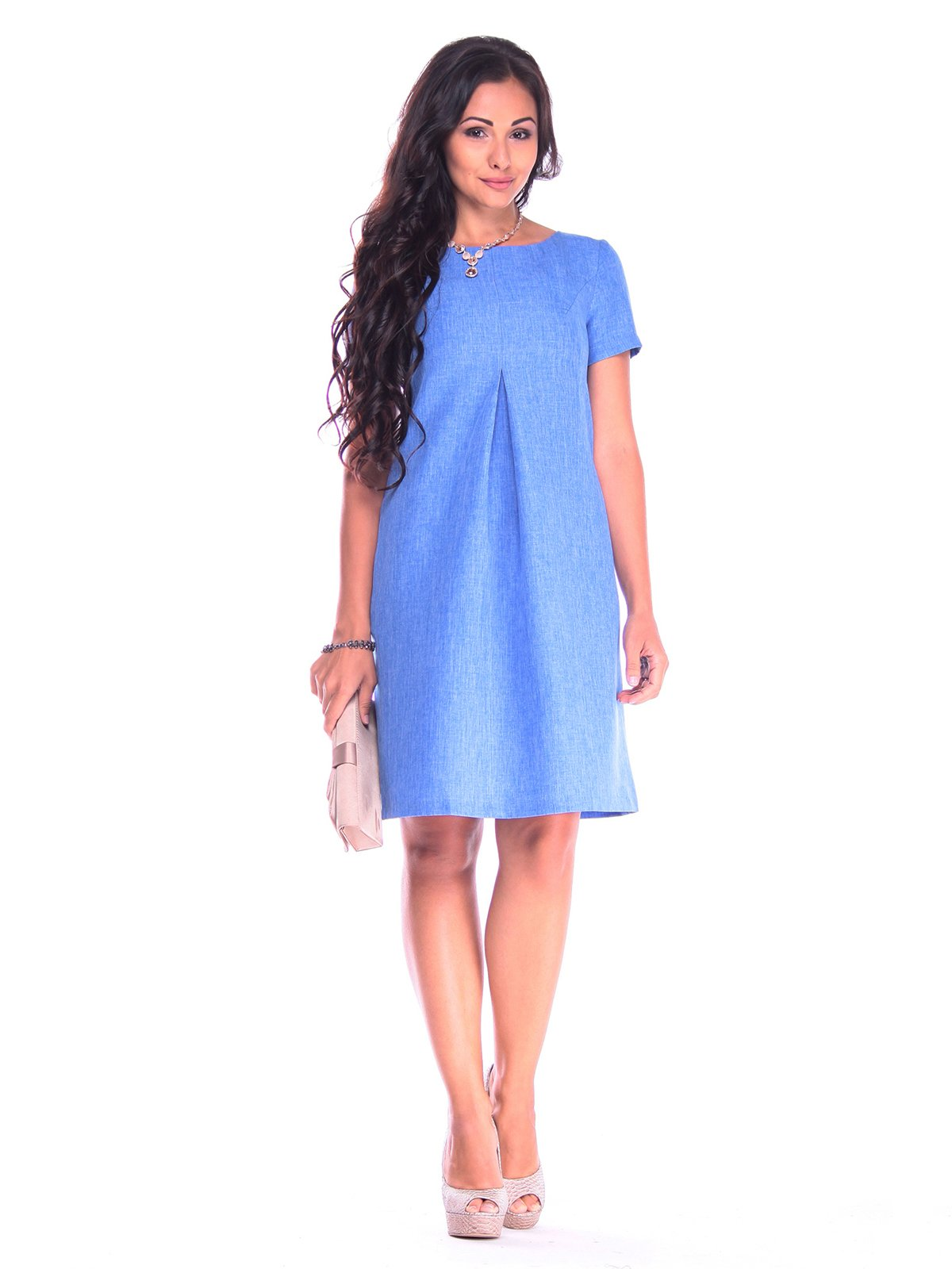 Сукня кольору електрик | 3184497