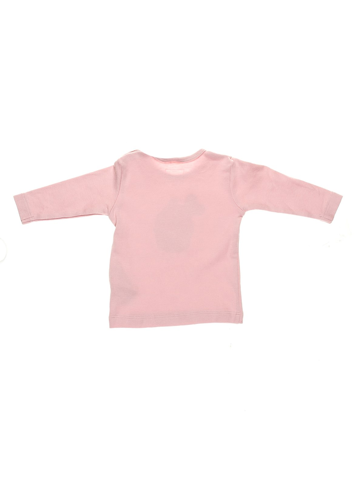 Лонгслів рожевий з принтом | 3147260 | фото 2