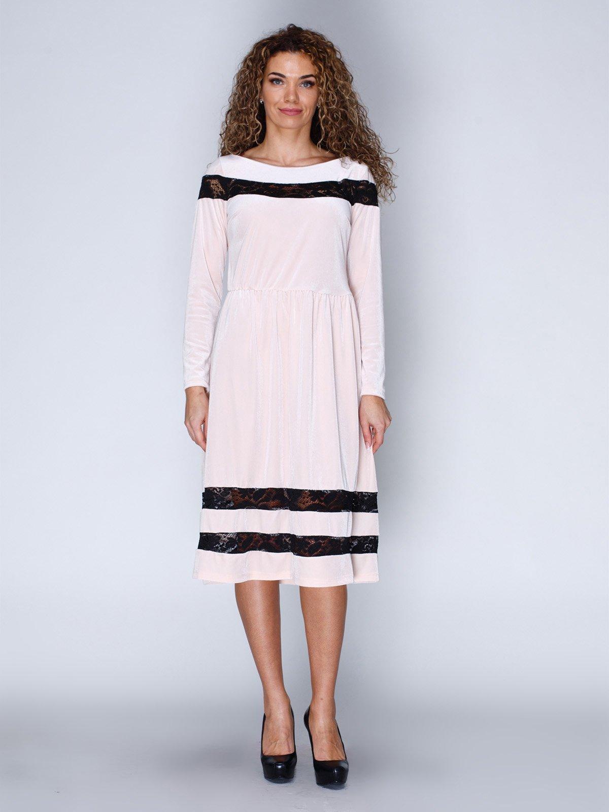 Сукня оксамитова рожева | 3202218