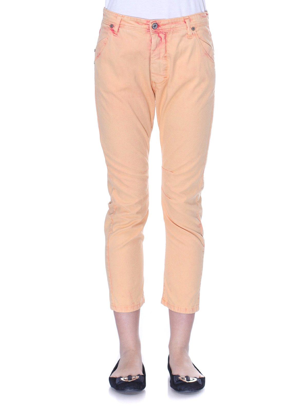 Брюки персикового цвета   3114156   фото 2