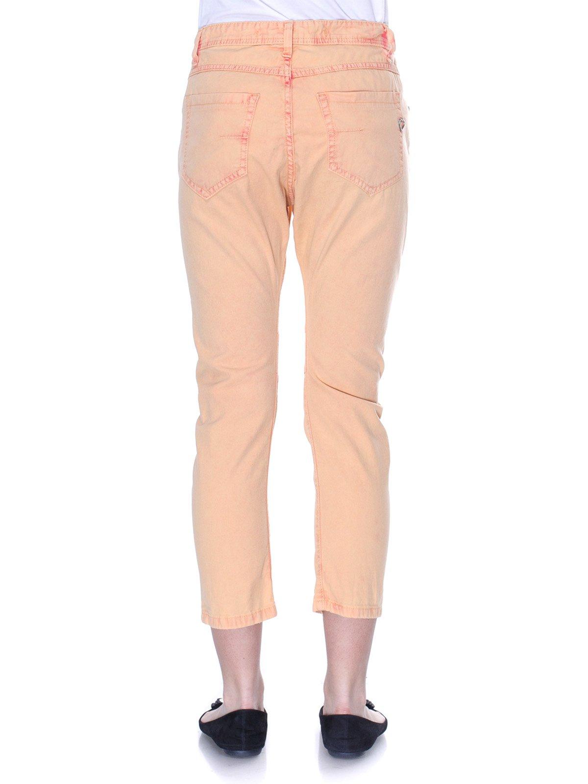 Брюки персикового цвета   3114156   фото 3