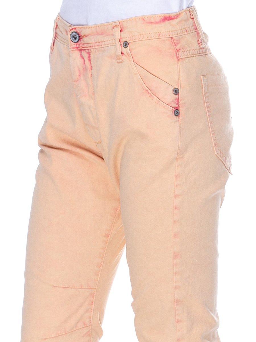 Брюки персикового цвета   3114156   фото 4