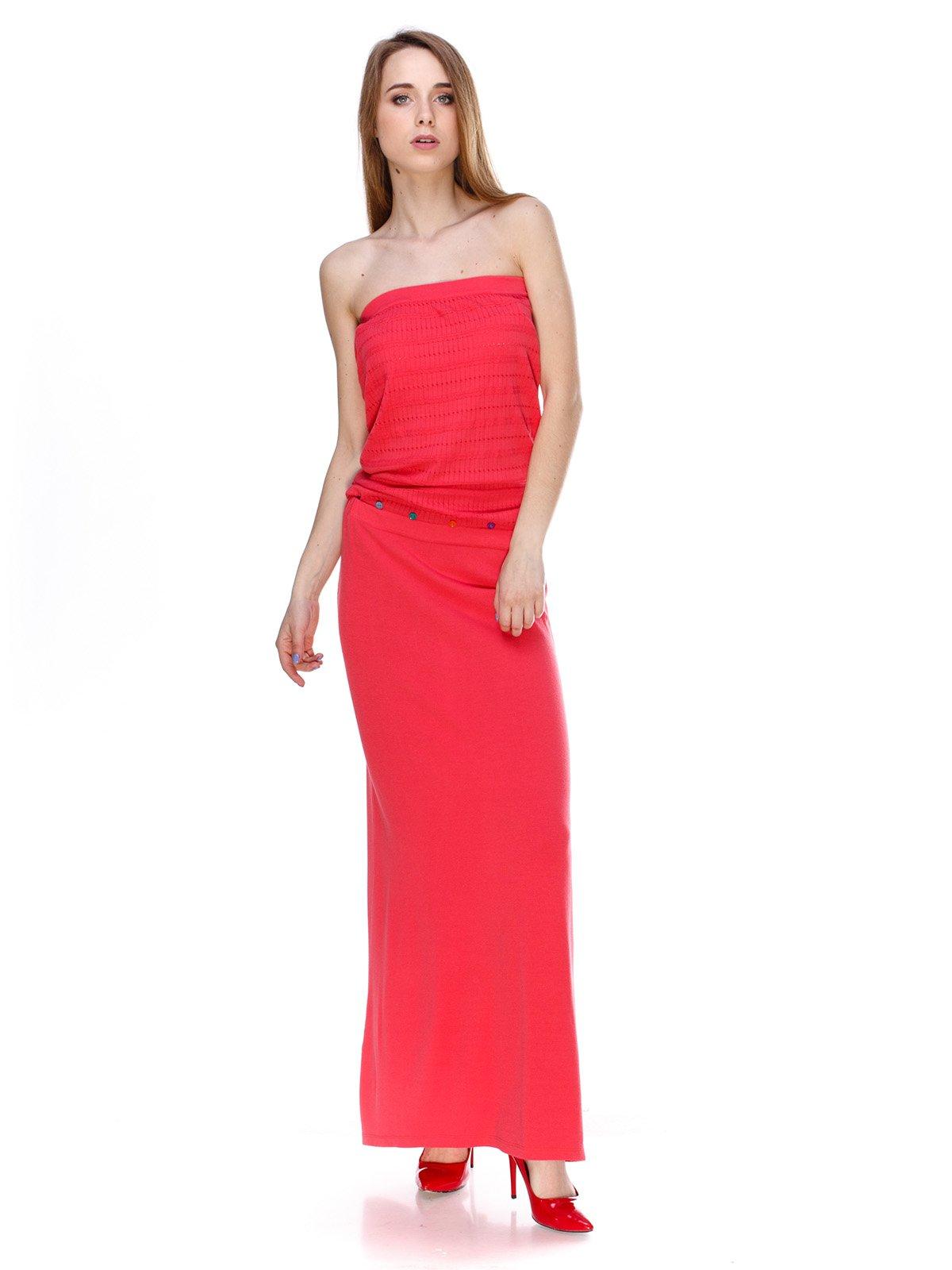 Платье коралловое | 2434148