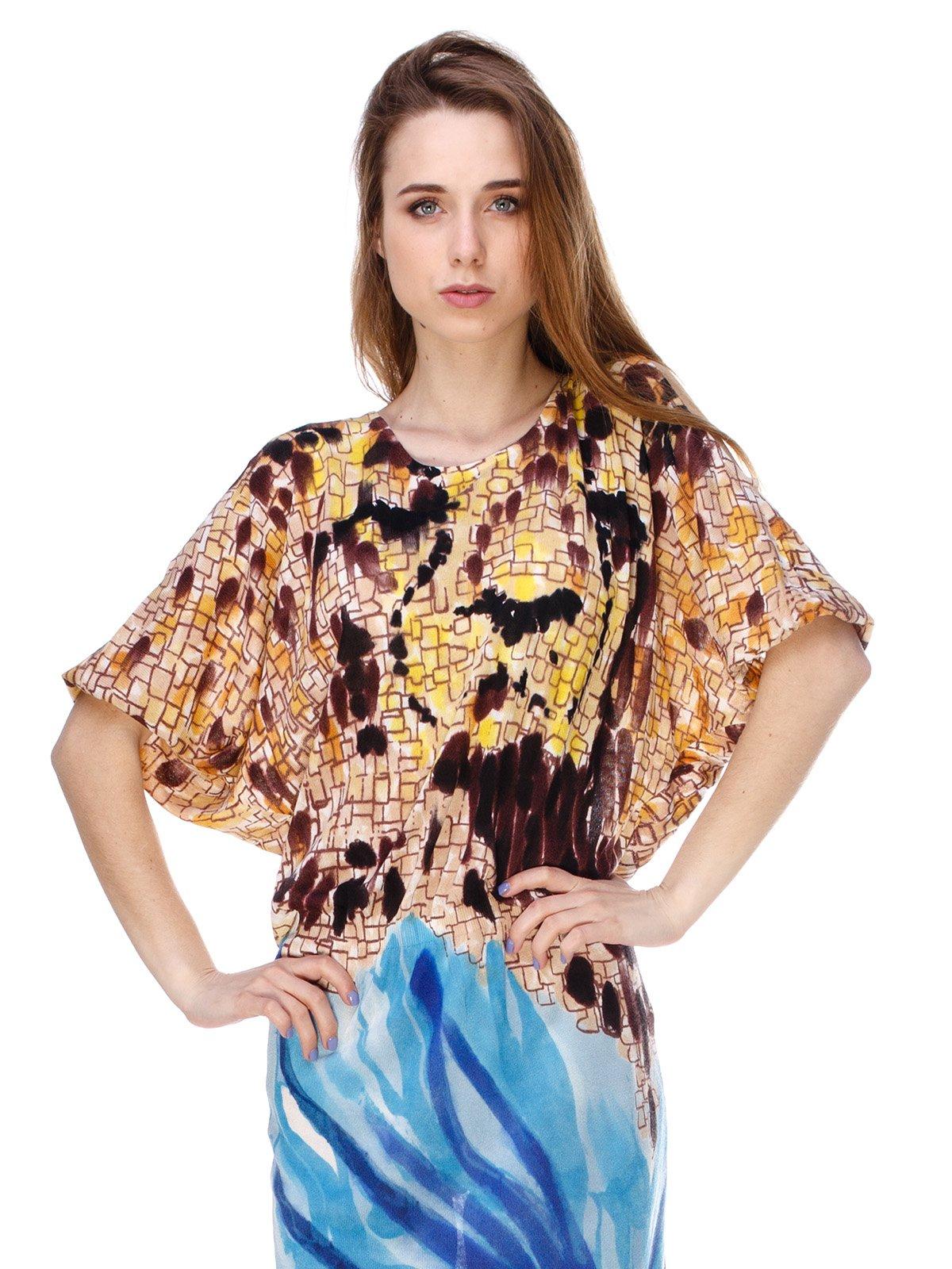 Платье абстрактной расцветки   2434144