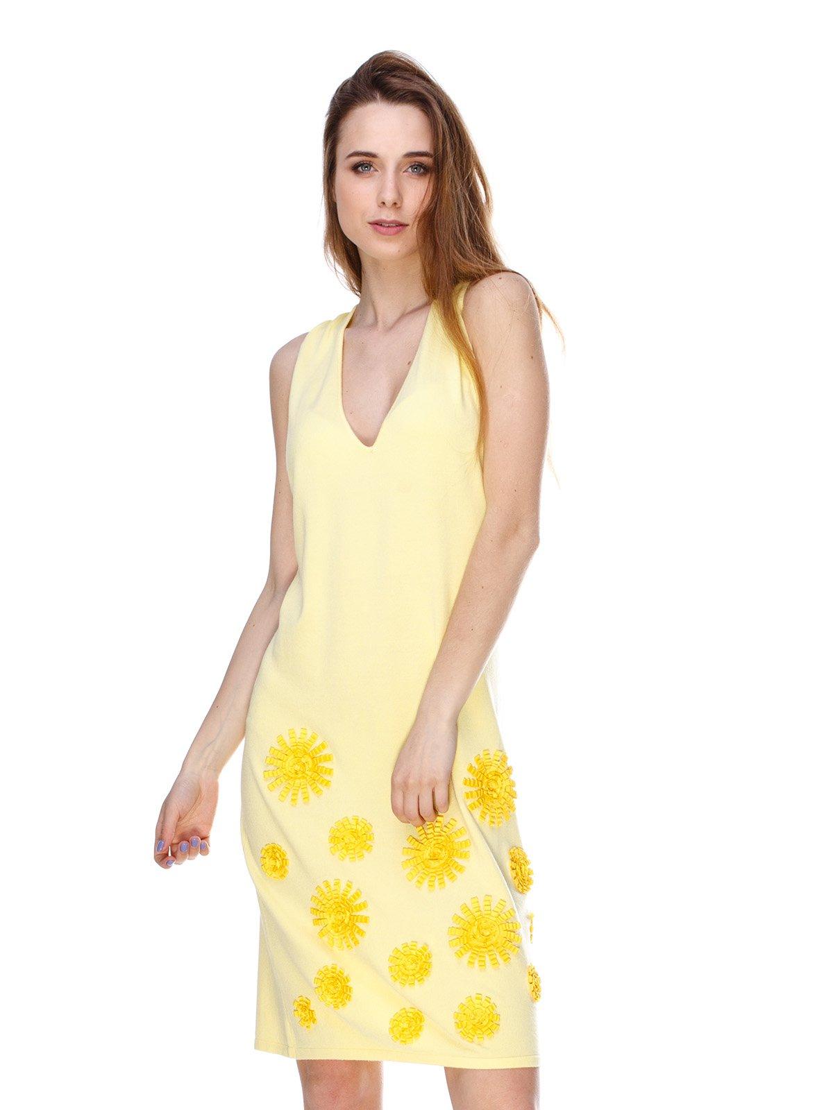 Платье желтое   2434154