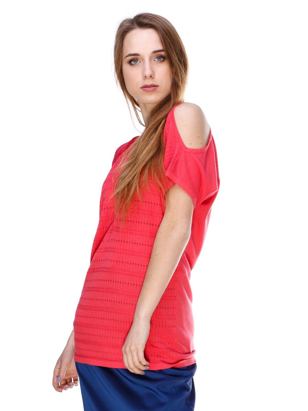Блуза коралловая | 2434146
