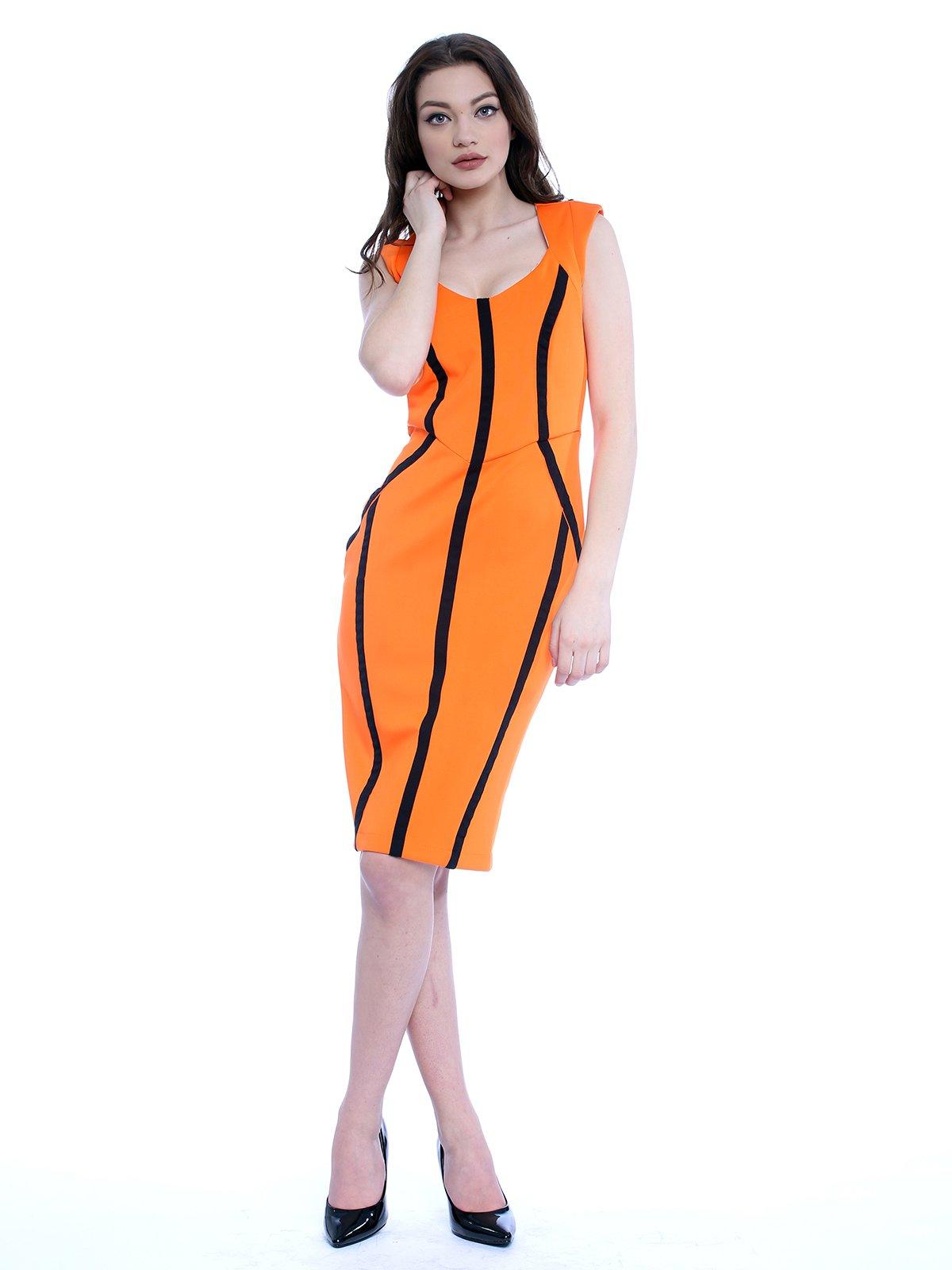 Платье оранжевое | 3228955