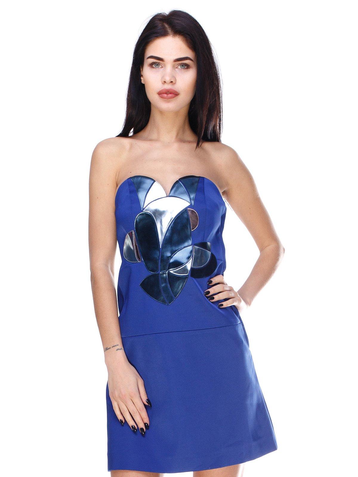 Платье синее | 3166636
