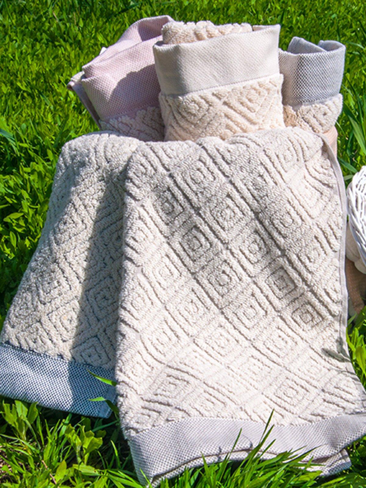 Полотенце махровое (50х90 см) | 3247758
