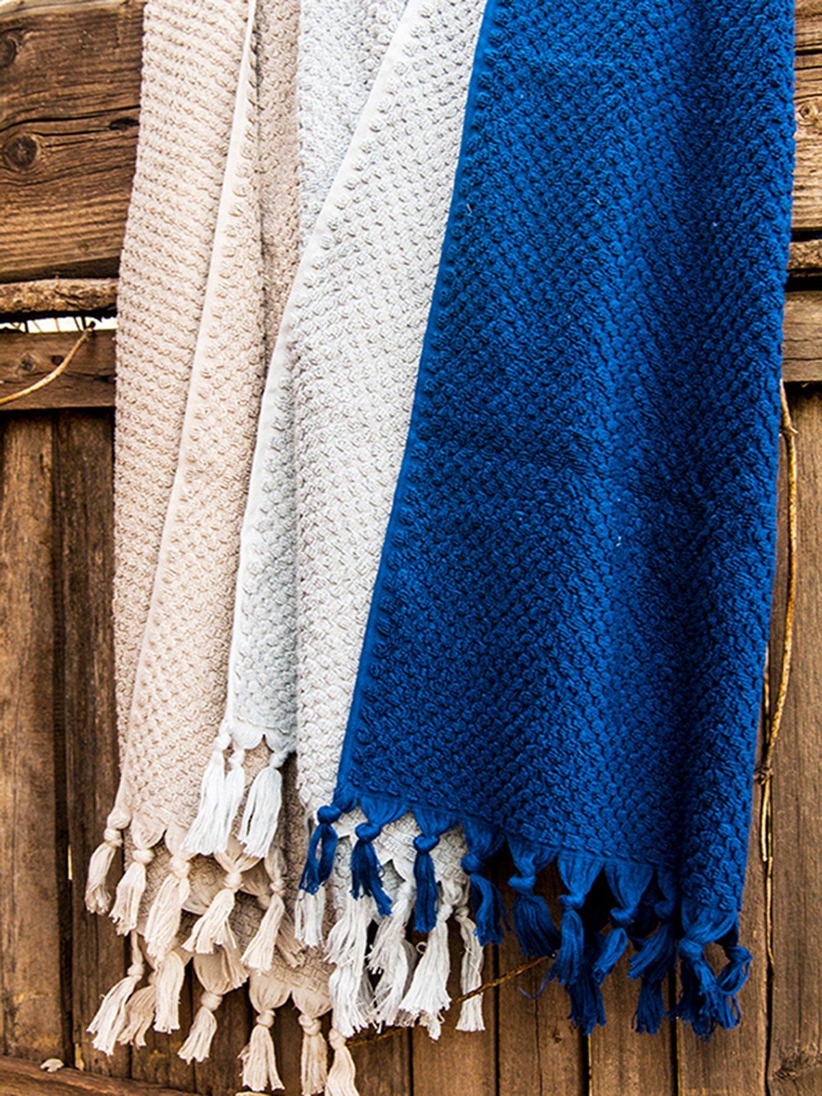 Полотенце синее (90х150 см) | 3247774
