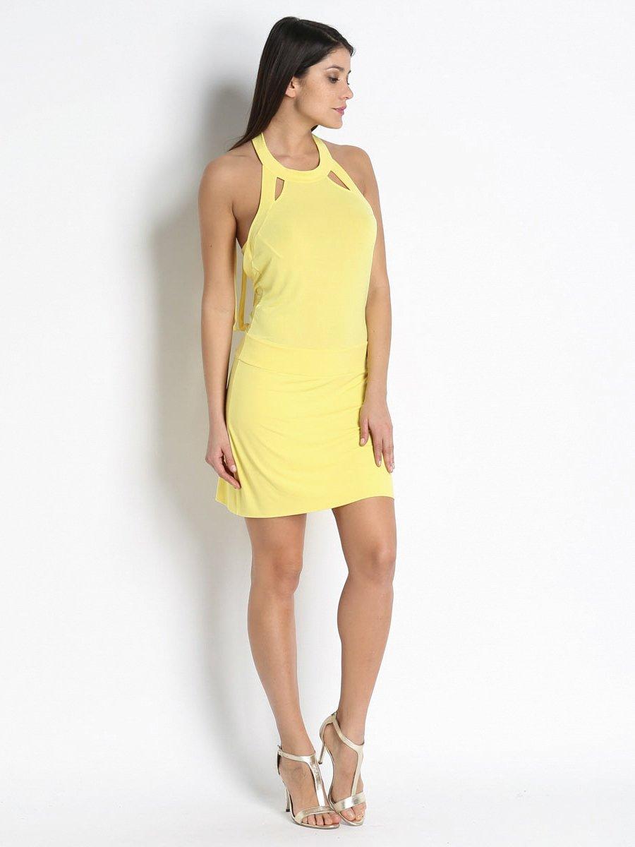 Платье желтое | 3269388