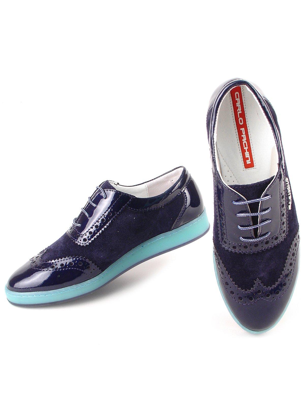 Туфли синие | 2793792 | фото 2