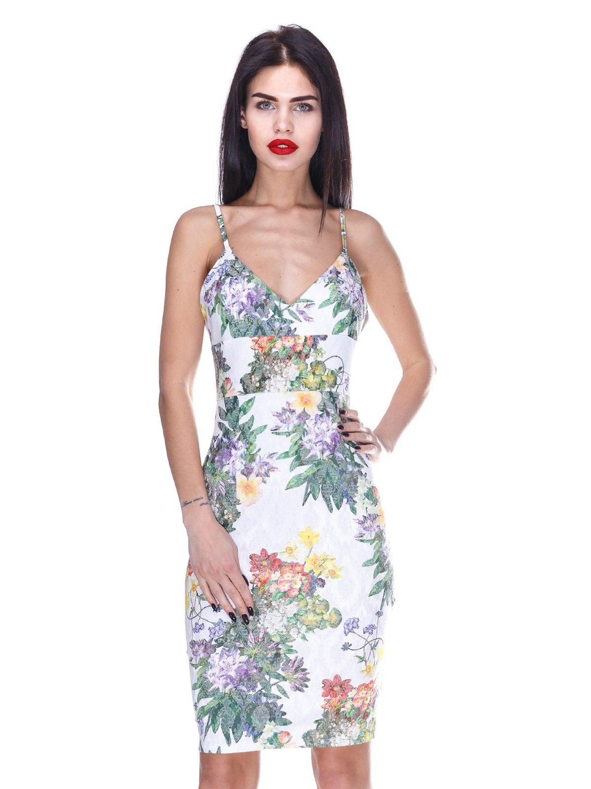 Сукня з квітковим принтом   3255732