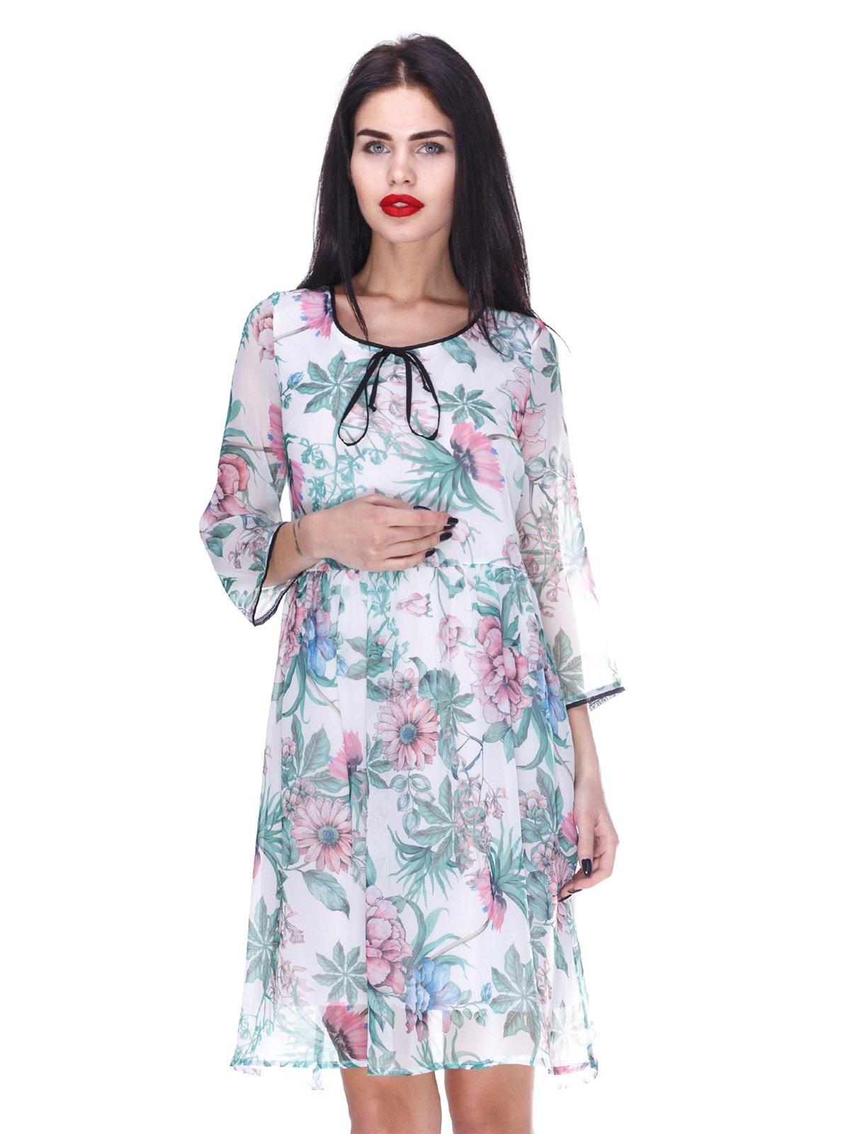 Сукня з квітковим принтом | 3255704