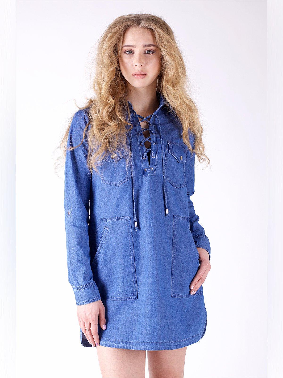 Сукня синя | 3277689