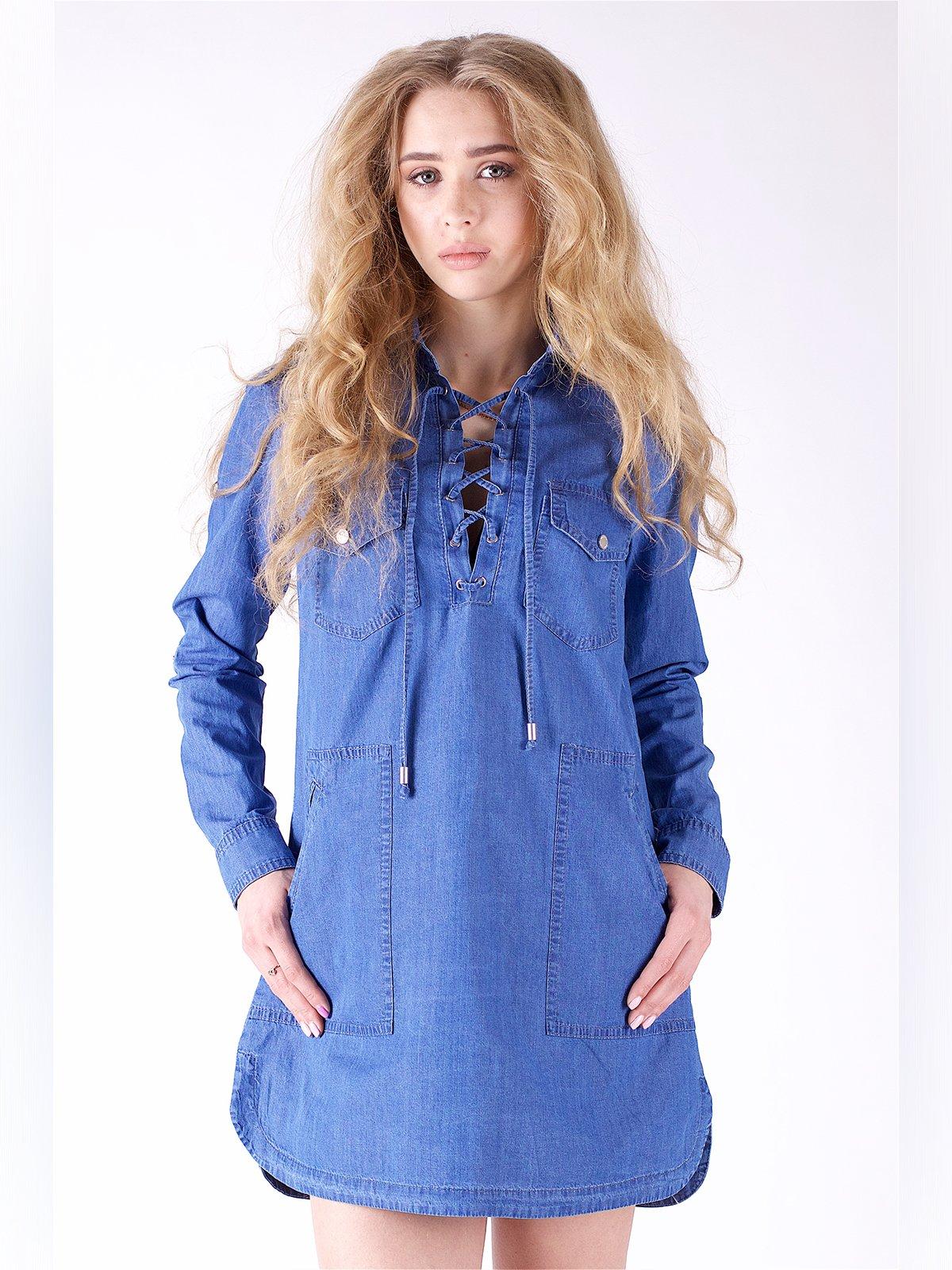 Сукня синя | 3277689 | фото 3