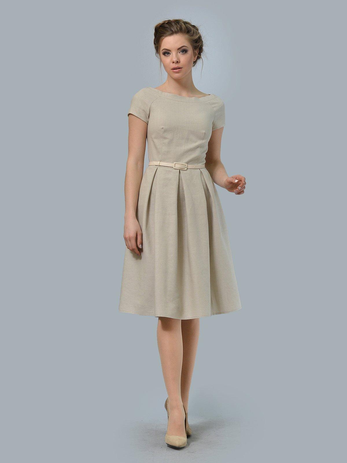Сукня пісочного кольору | 3178121