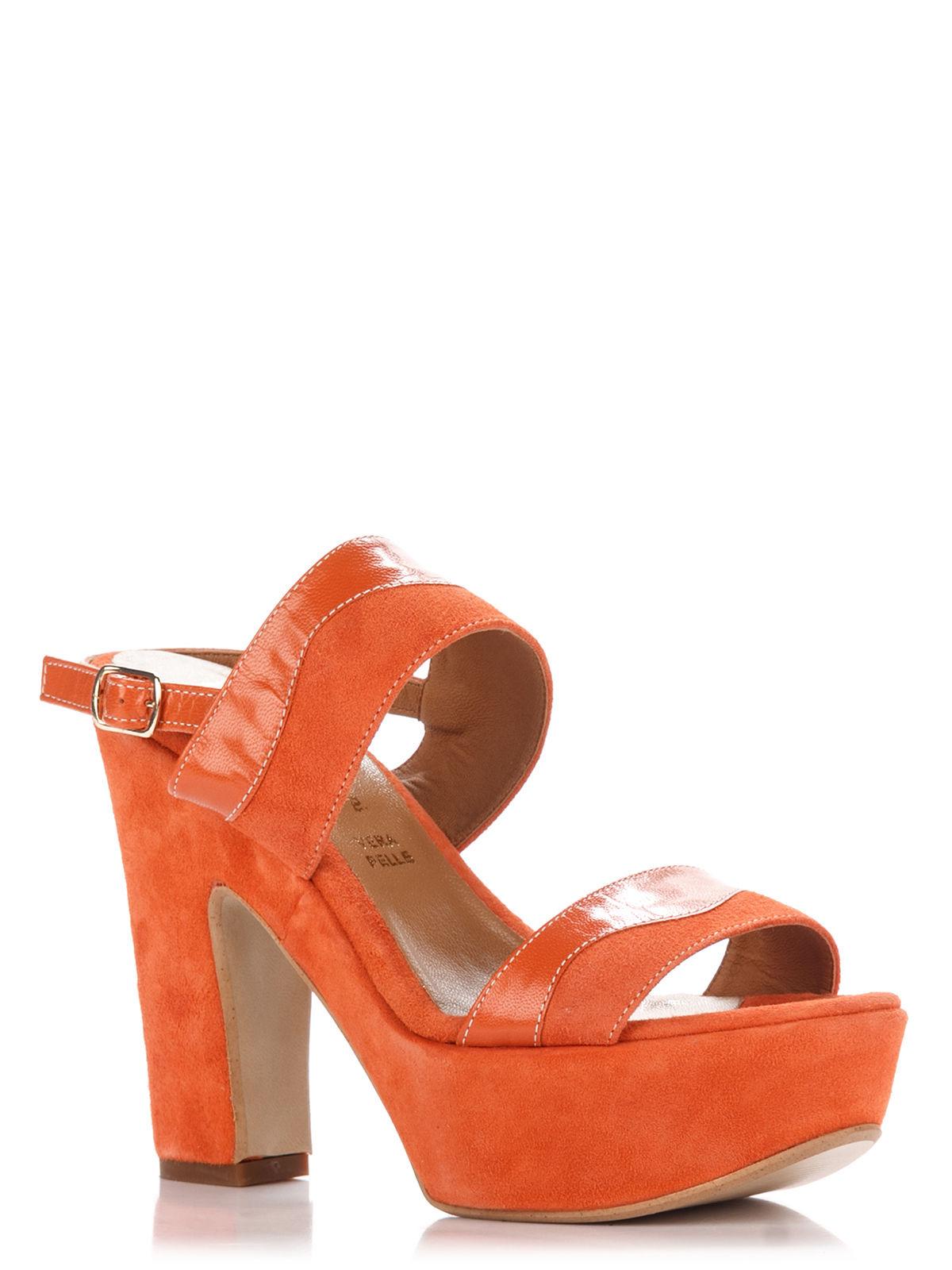 Босоножки оранжевые | 3273445