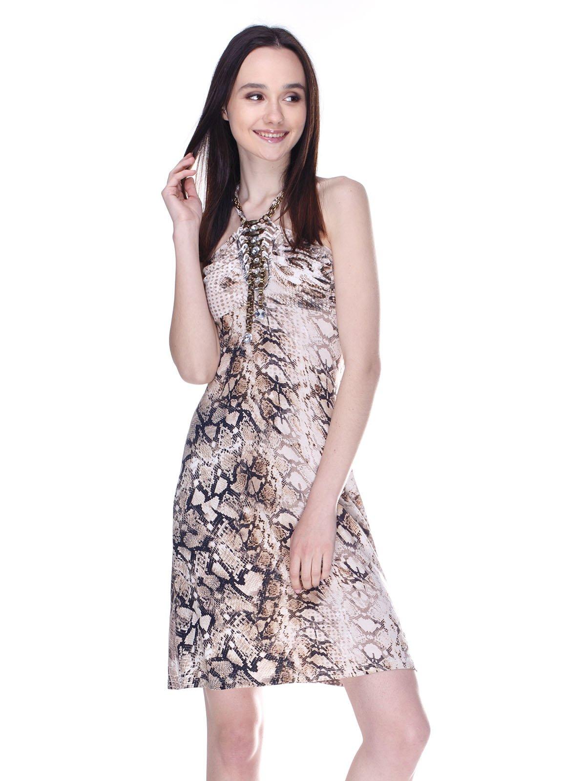 Платье анималистической расцветки | 3273294