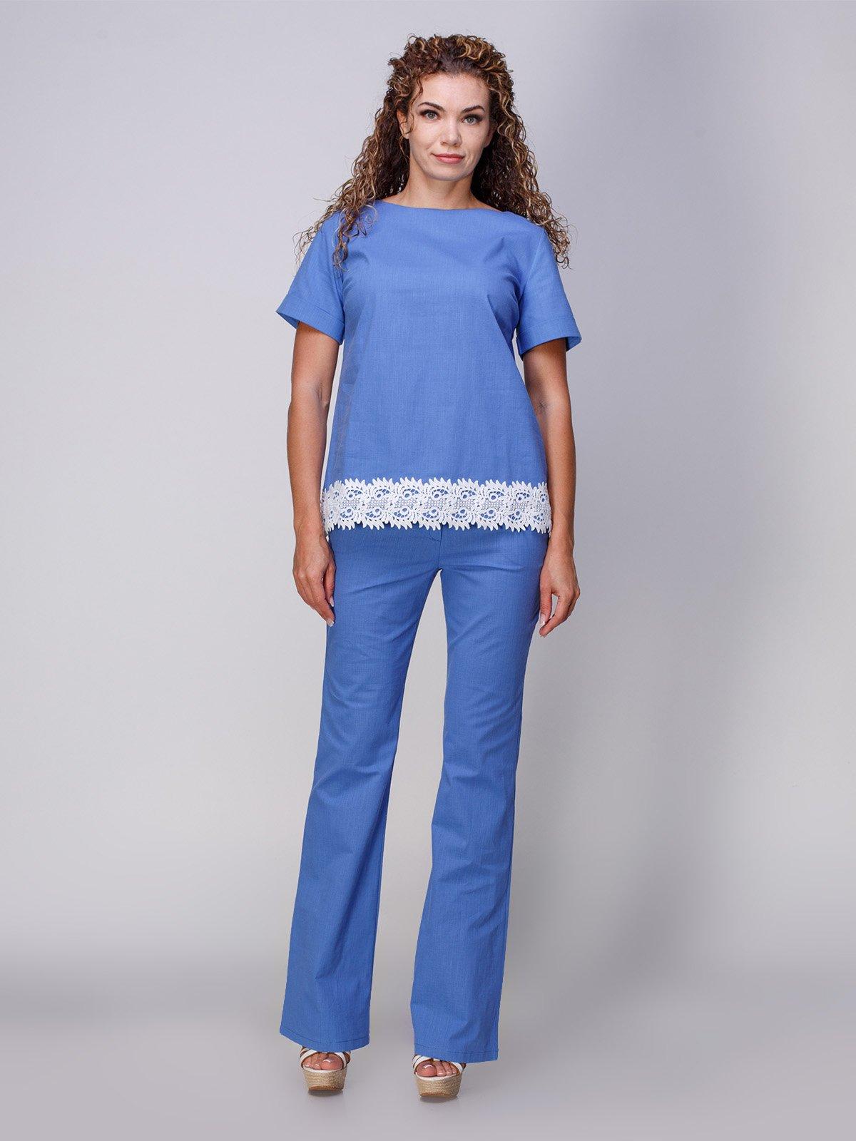 Костюм: блуза та штани | 3277977