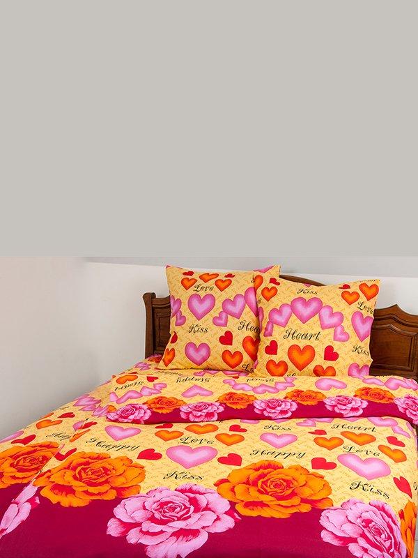 Комплект постільної білизни двоспальний (євро) | 3283532