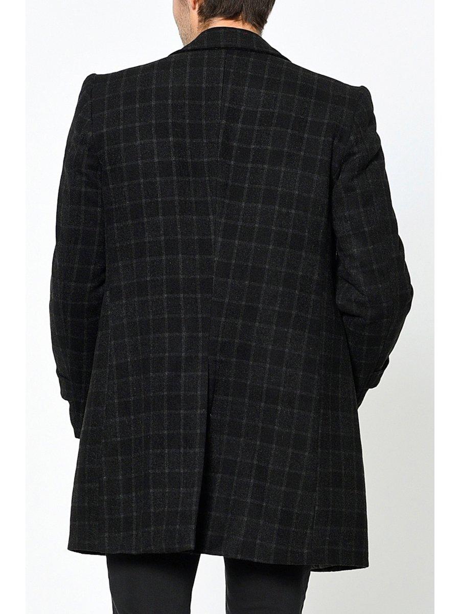 Пальто клетчатое | 3289495 | фото 3