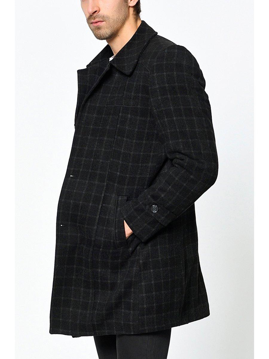 Пальто клетчатое | 3289495 | фото 4