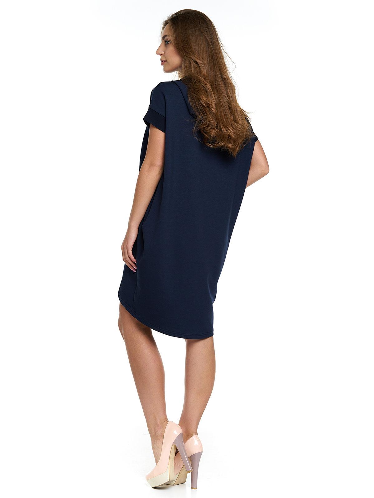 Сукня синя з принтом | 3299628 | фото 2