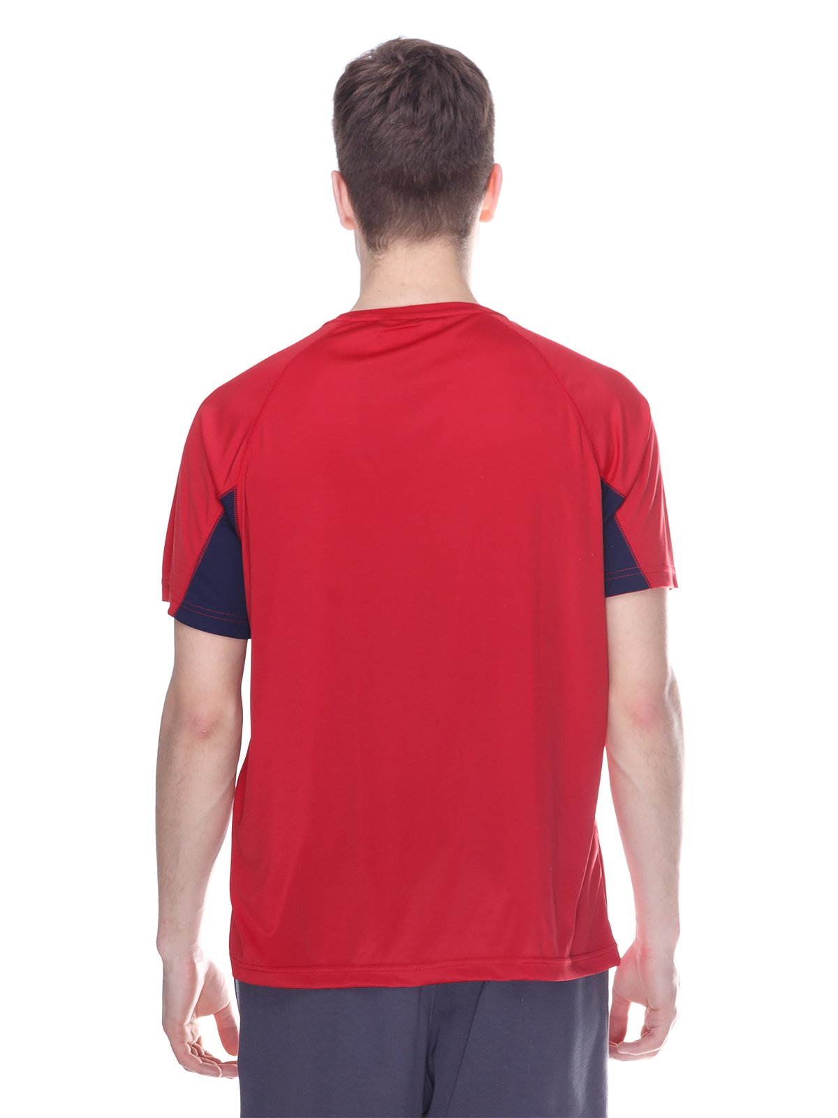 Футболка червона з принтом | 3180250 | фото 2