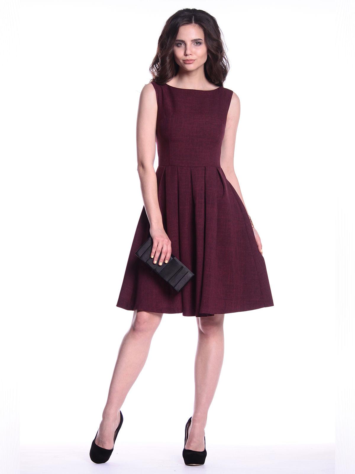 Платье сливовое | 3302023