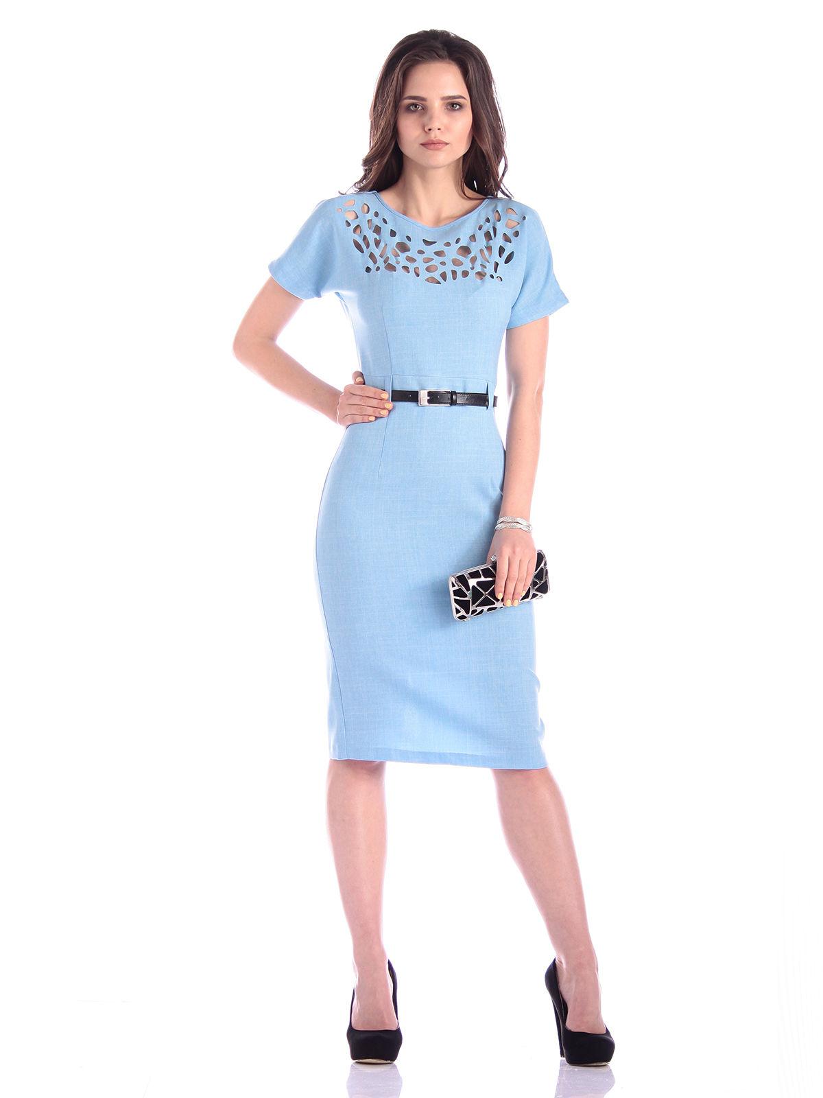 Платье голубое | 3302032