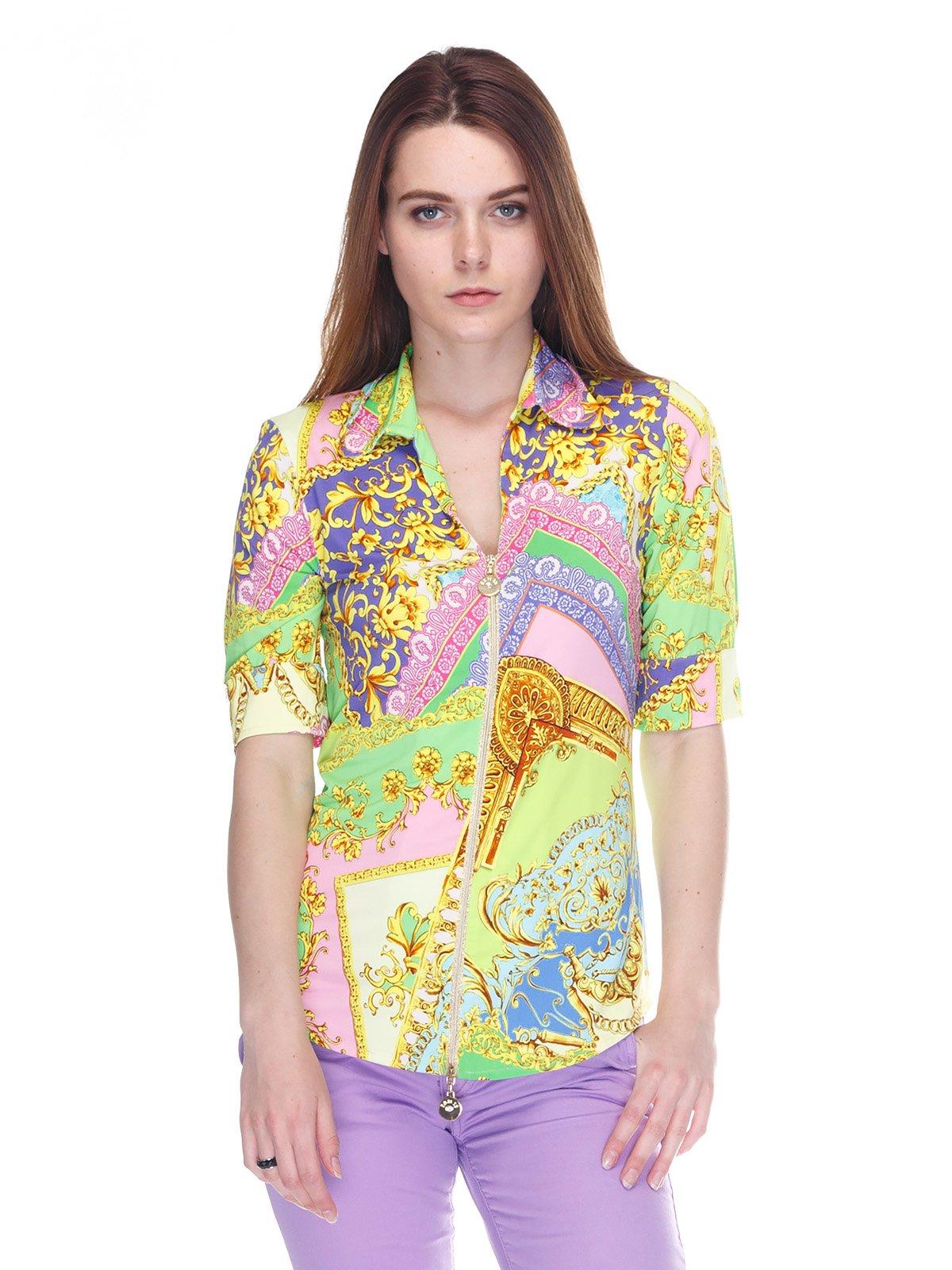 Блуза в принт | 3297400