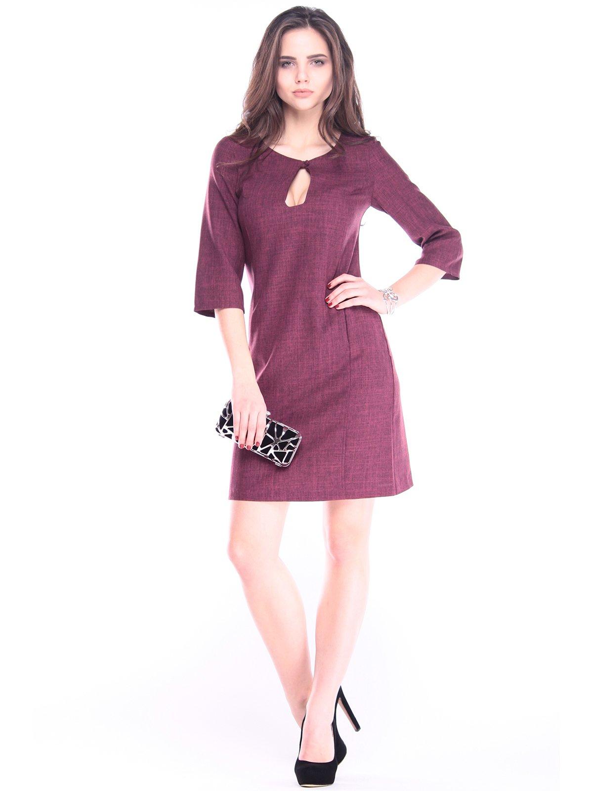 Платье сливовое | 2985932
