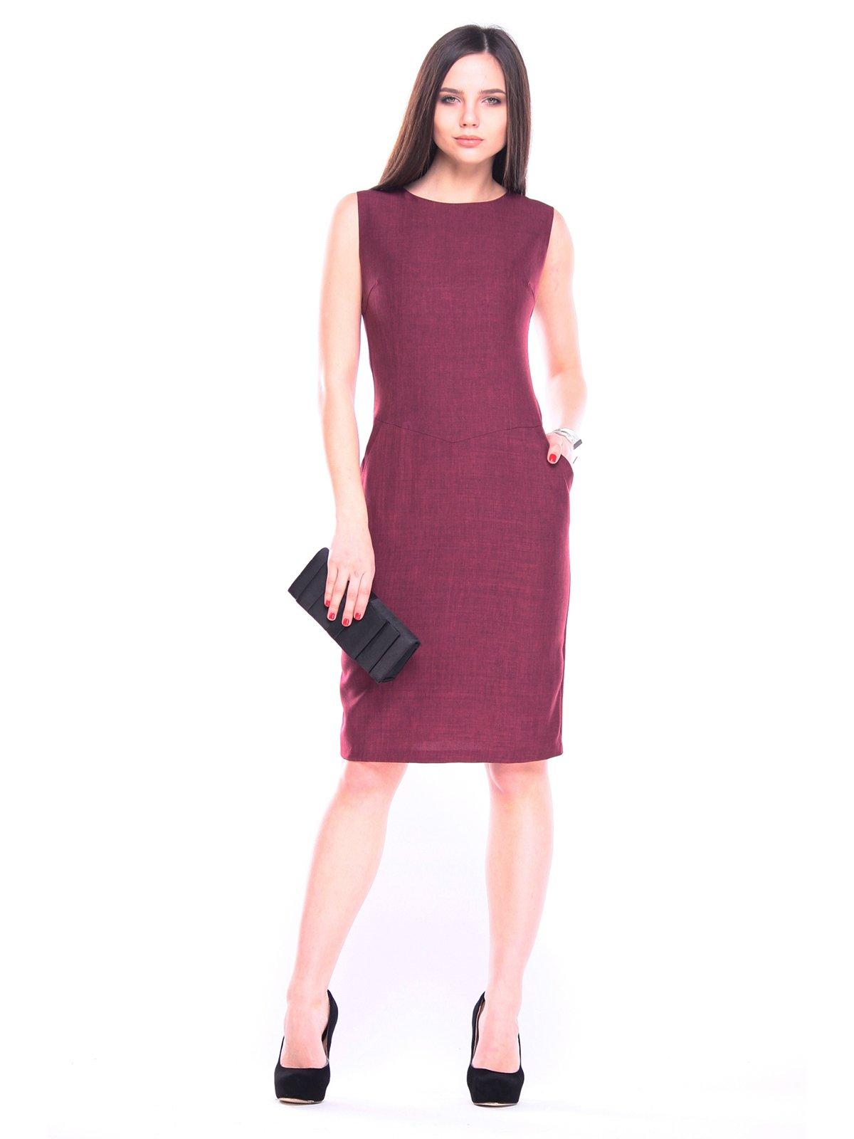Платье темно-сливовое | 3091020
