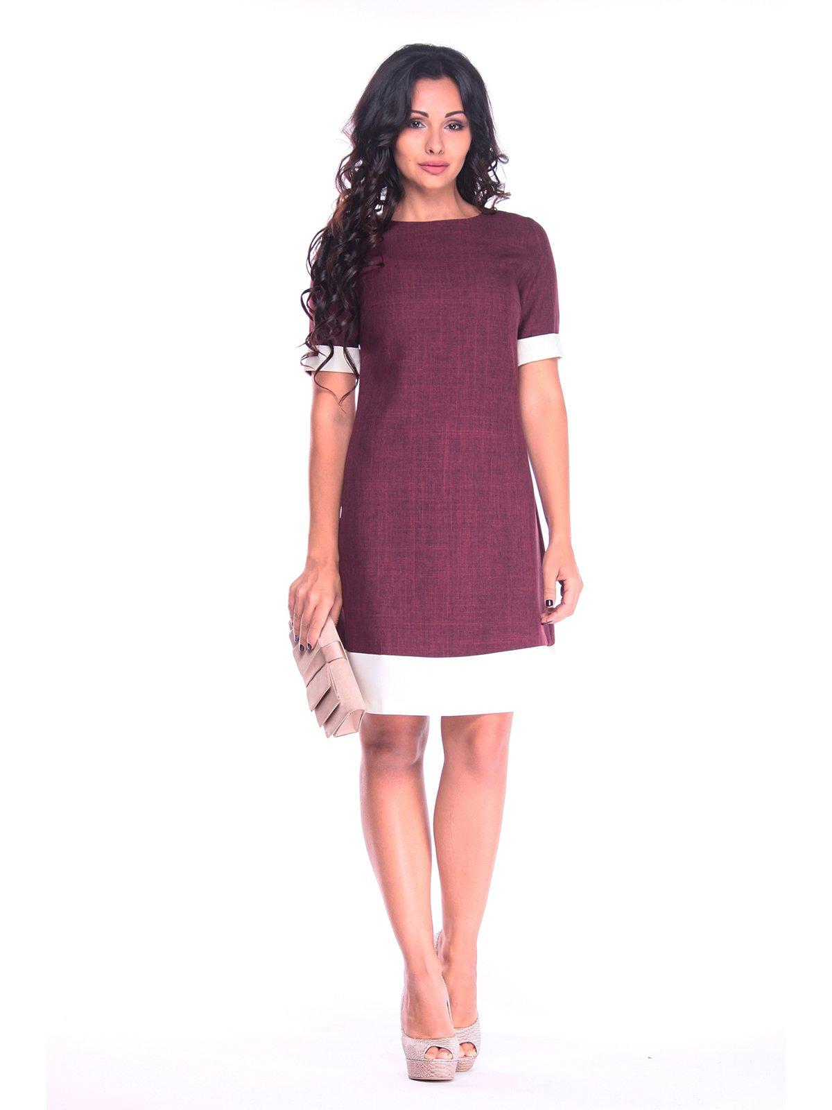 Сукня сливово-білого кольору   3214950