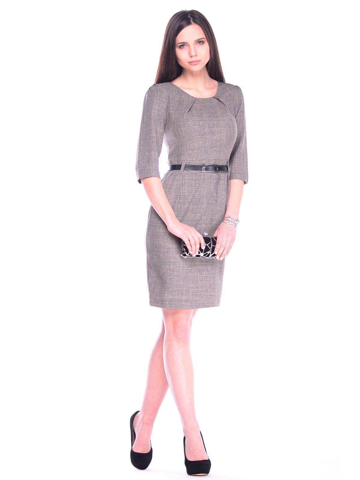 Платье цвета бежевый хаки   3241207