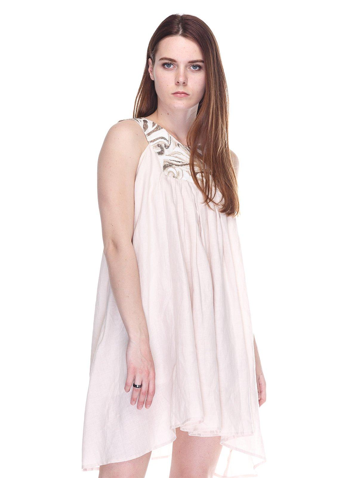 Платье бежевое | 3276579