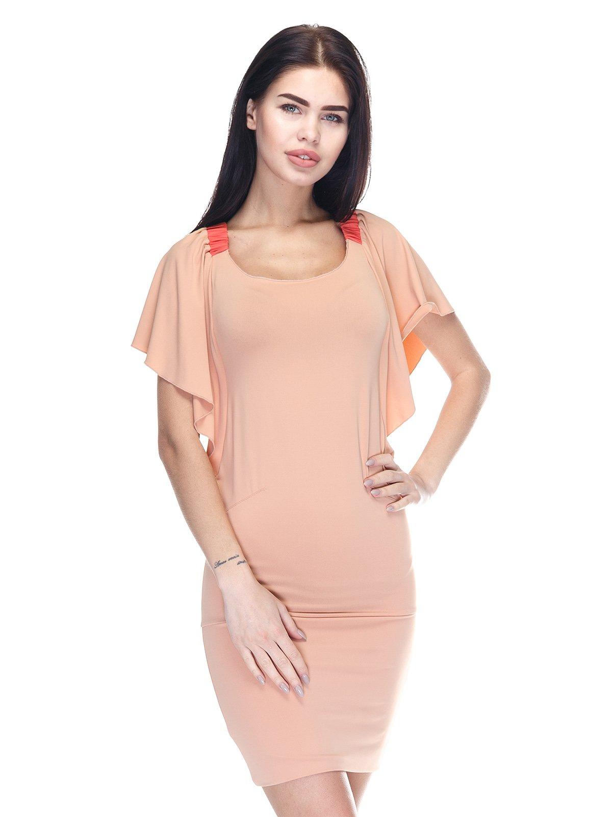 Платье персикового цвета | 3276600